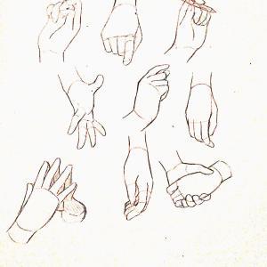 【練習日記8日目】手の基礎