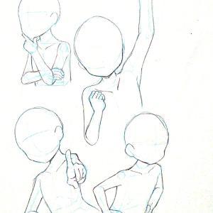 【練習日記13日目】腕と手②&イラスト1枚