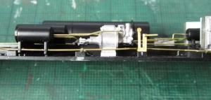 ブレーキシリンダーの高さ修正