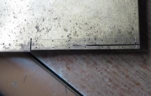 マニM3217 自作はしごを取り付けて塗装前生地完成です。
