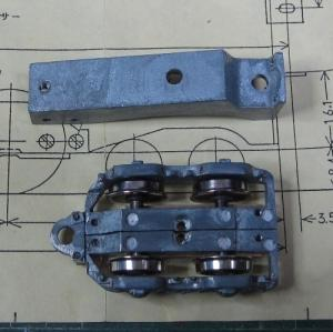 13mmでC62を作る 走行装置まわりの工作 その15