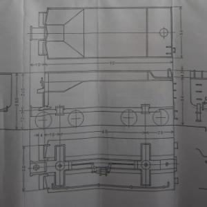 13mmでC62を作る 全体仮組みその3 テンダー3