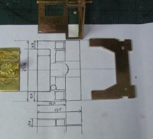 13mmでC62を作る 全体仮組みその12 キャブとその周辺7