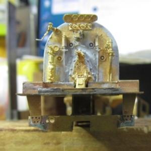 13mmでC62を作る78 キャブ支え作り直し2