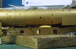 13mmでC62を作る79 キャブ支え作り直し3