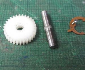 13mmでC62を作る106 オートクラッチ完成