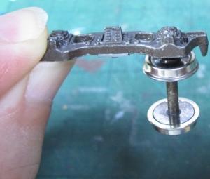 13mmでC62を作る108 テンダー台車LT243の改良続き