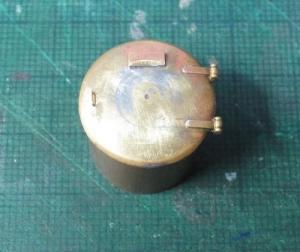 13mmでC62を作る116 煙室扉の修正
