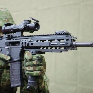 31年ぶりとなる陸自の新型基幹小銃 20式5.56mm小銃が登場