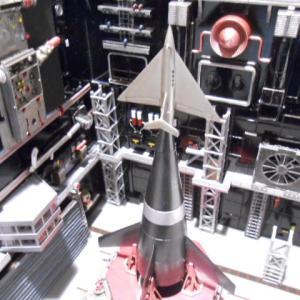 hobby corner 三段式宇宙ロケット