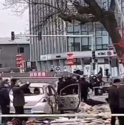 中国国務院/内閣府近くの北京中南海地区で爆発