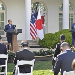 新時代の日米共同声明謳われる それを見て中共さん顔真っ赤