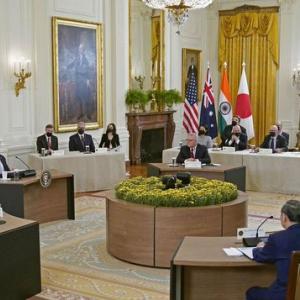 クアッド】  日本 米国 インド 豪州 対中包囲網強化へ一致