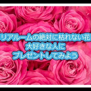 """【好きな人へプレゼント】メリアルームの""""一生枯れない花""""【絶対喜ぶ】"""