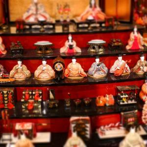 マンションに飾る雛人形はコンパクトな物が一番【桃の節句】