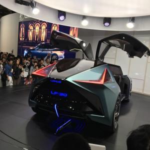 【感想】東京モーターショー2019に親子で行ってきた!LEXUS(レクサス) LF-30 Electrifiedが未来すぎた。
