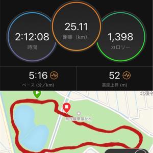 【ダニエルズさん8週Q2】Mペース走2段はキツイ。東京ハーフマラソン開催