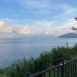 9月14日月曜日 恋人岬へ旅ラン