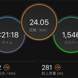 9月15日水曜日 Mペース走/富山マラソンはやる気っぽいけど・・・