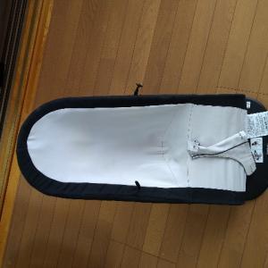 中古で買ったバウンサー(ベビービョルン)のシートを洗濯してみた