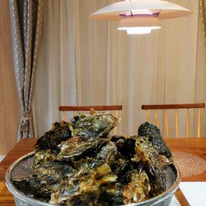 殻付き牡蠣のカンタンおいしい食べ方と昨日の会話