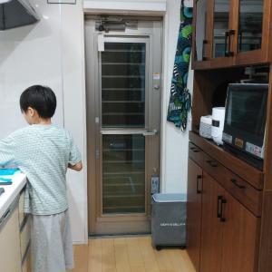 キッチン快適化で便利になりましたとナゾのクッキング