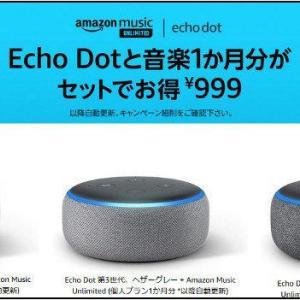 Echo Dot(第3世代)が届いた