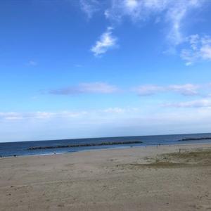 午後からぷらっと海に行きました【20日帰り旅行】