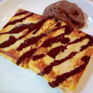 高野豆腐のフレンチトースト ヒルナンデスで紹介されたレシピをシュガーフリーで作ってみた