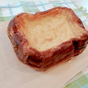 ホームベーカリーで作る低糖質チーズケーキ