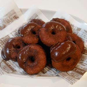【おからパウダー】低糖質なチョコドーナツ【大豆粉】