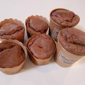 大豆粉のココアチョコシフォン