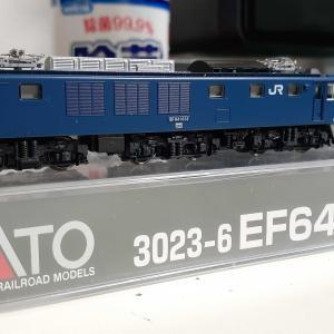 Kato 3023-6 EF64 1032 双頭連結器