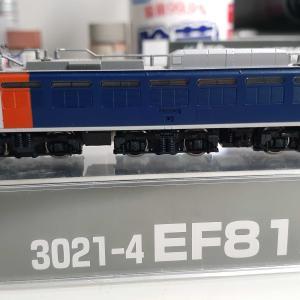 kato 3021-4  EF81  カシオペア