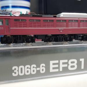 kato 3066-6 EF81 81 御召塗装機JR仕様