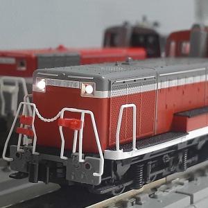 Kato 7011-2 DE10  暖地形 入線
