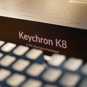 メカニカル&ワイヤレスキーボード、Keychron K8がとても良い
