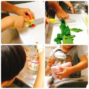 【お料理男子への道】野菜ホットケーキ&パニーニ