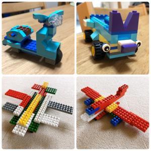 LEGOデビュー★昭和のブロックとの違い