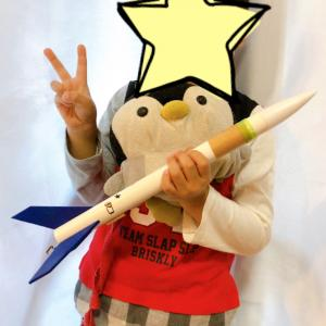 念願の1stロケット_長男5歳3ヶ月
