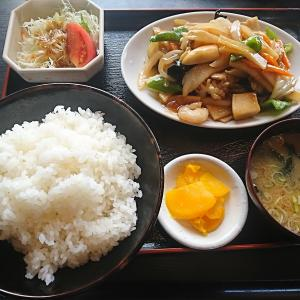 384軒目  これも初注文「八宝菜定食」@『龍宮』part20