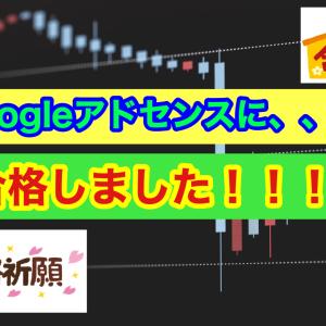 【FX】Googleアドセンスに、、、合格しましたーーー!!!