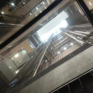 ハルカスのエレベーター