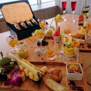 お水まで美味しい!琵琶湖マリオットホテルのアフタヌーンティー