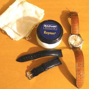 クロコダイルの腕時計ベルトとお手入れ 〜カミーユフォルネとJ.C.ペラン〜