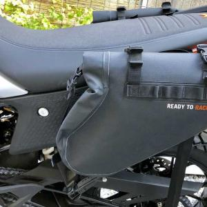 KTM OEMパーツとエンデュリスタン ブリザード サイドバッグとの違い 〜 KTM 390 Adventure カスタム 〜