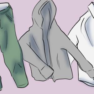 服は着倒して捨てたい!そのせいで片付かない・・・
