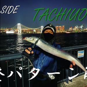 【大都会】東京湾奥タチウオゲーム【豊洲ぐるり公園】