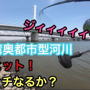 【釣り#28】東京湾奥都市型河川!デイゲームでランカーシーバスキャッチなるか!A.ep2 Fishing lures on rivers in Tokyo Bay