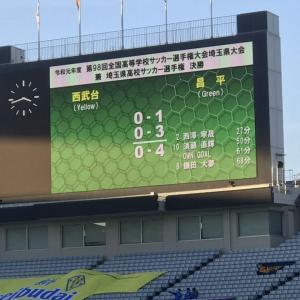 【高校サッカー】埼玉県予選 決勝!!